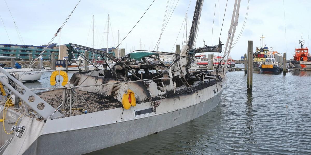 Geen Schade Aan Naastgelegen Boten In Marina Seaport