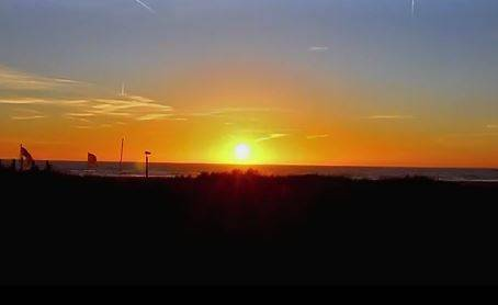 Time Lapse Van Zonsondergang In IJmuiden [video]